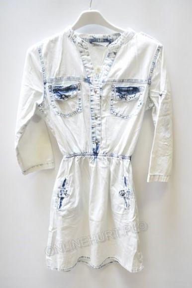 Sukienka Jeansowa Cudi SK007  _A7  (XS-L)