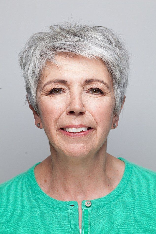 Alison, 63, from Leicestershire has embraced her silver hair and wants to know about make-up to suit