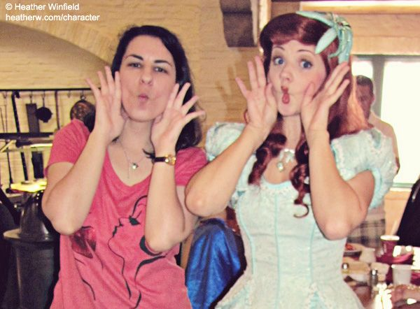 What to ask the characters at Disney World, and poses too! But as someone who wants to be a princess at Disneyland someday, these questions seem pretty intimidating! Looks like I have some practicing to do :)