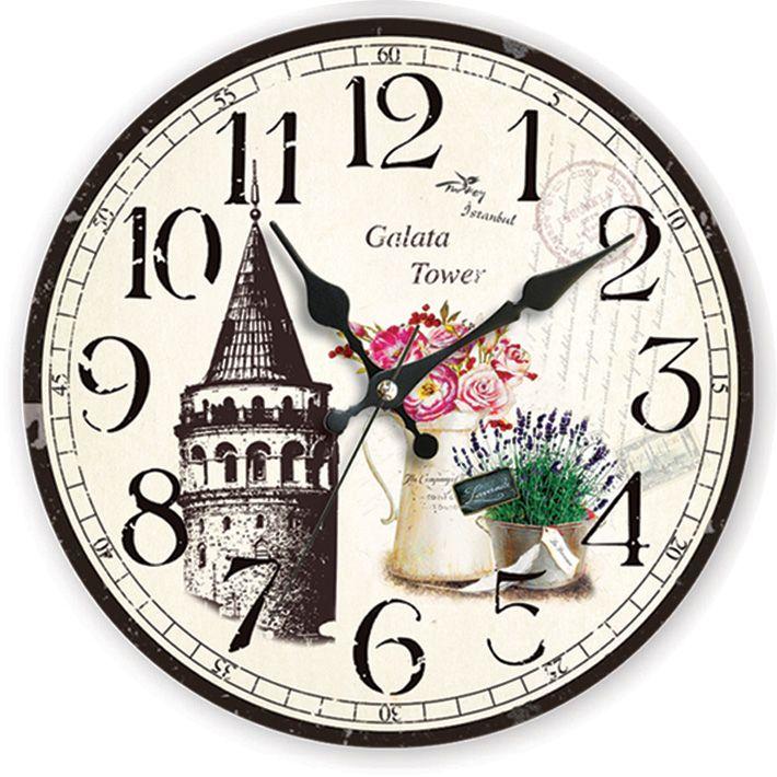 Galata Antik Ahşap Duvar Saati  Ürün Bilgisi;  MDF gövde Sessiz akar saniye Çap 35 cm. Galata Antik Ahşap Duvar Saati Çok şık ve dekoratif ahşap duvar saati Ürün resimde olduğu gibidir