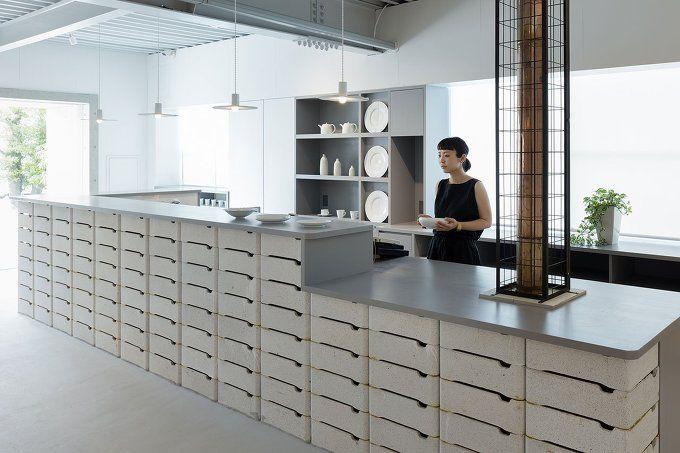 *전통적 도자기로 표현한 일본 도자기 회사 건물-[ DO.DO ] ŌYANE Saikai Porcelain Shop in Hasami, Japan :: 5osA: [오사]