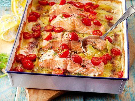 Unser beliebtes Rezept für Kartoffel-Lachs-Gratin mit Dillsahne und mehr als 55.000 weitere kostenlose Rezepte auf LECKER.de.