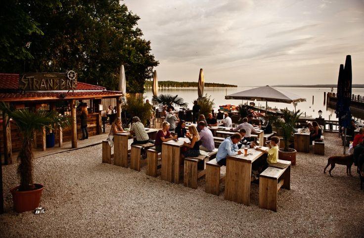 FISCHER, Stegen, Restaurant, Biergarten und Café direkt am Ammersee