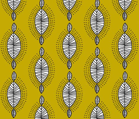 inspiration africa fabric by molipop on Spoonflower