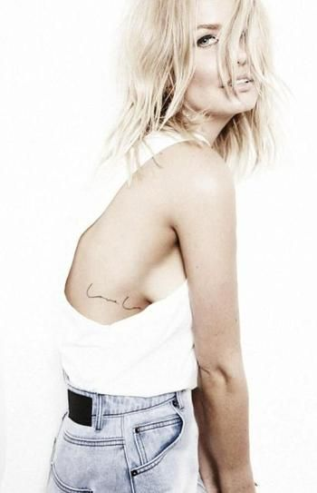 Here are 25 Simple Tattoo Ideas - small, simple & chic.