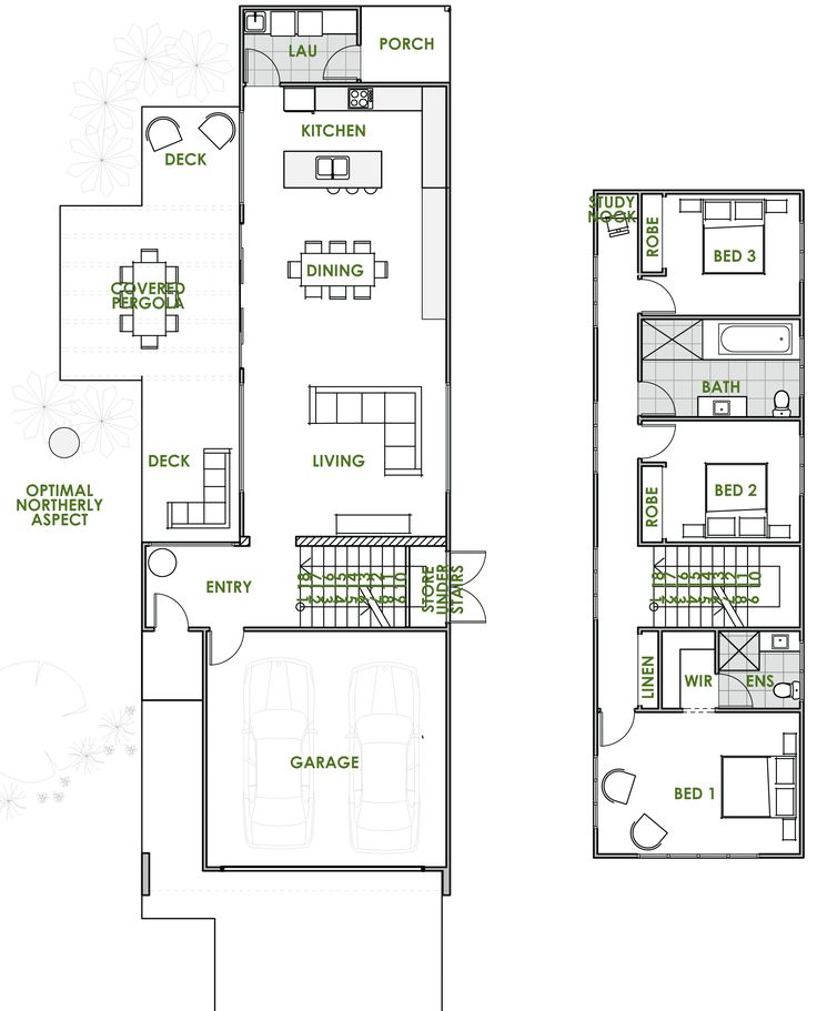 Best 10 Double Storey House Plans ideas on Pinterest