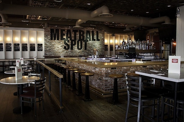 this is mainly for James. These places do exist, (meatball spot).