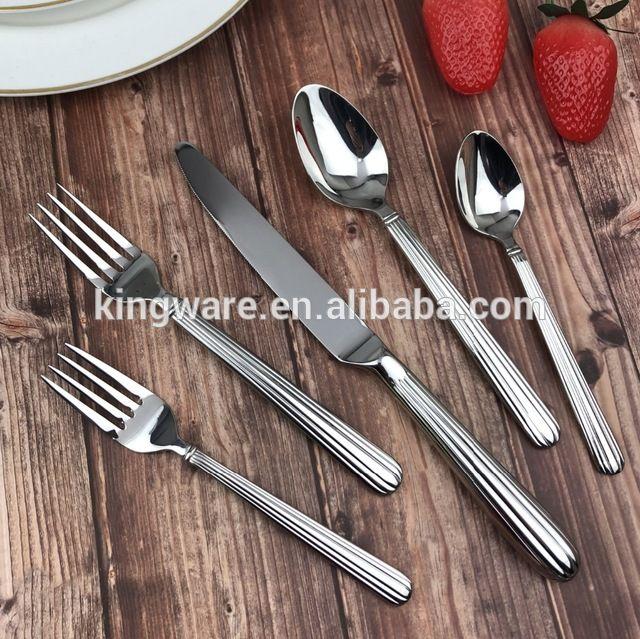 Wholesale Wholesale China Dinnerware Royal Cutlery Set Stainless Steel Flatware Restaurant Silverware Cutlery Set China Dinnerware Cutlery Set Stainless Steel
