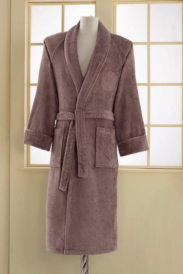 Modalové župany DELUXE sú vyrobené z modalového vlákna a česanej bavlny v pomere 30% modalu a 70% bavlny.