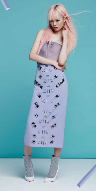 FRESH IS BEST. Do Spring in electric pastels and cool, clean cuts #NastyGal