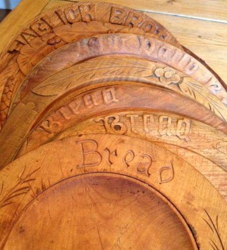 Bread Boards   (.....cr....I have an old round breadboard like these.....I use it every day....probably shouldn't but I just love it and it is very handy to grab to cut cut onions, etc. on)