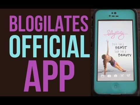 The Blogilates App!