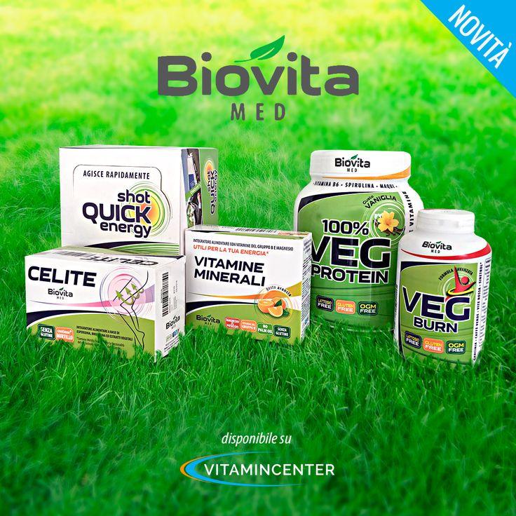 NEW ENTRY | BIOVITA MED  Biovita Med è un nuovo marchio italiano che ha realizzato una linea di integratori alimentari senza glutine per vegani! #glutenfree #vegan Cosa aspettate a provarli? #vegan   #supplements   #integratori   #sport   #allenamento   #palestra   #muscoli   #fitness   #bodybuilding