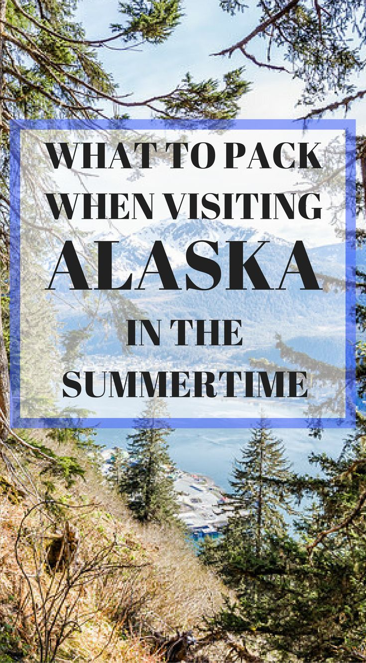 What to pack when visiting Alaska in the summertime by the Divergent Travelers Adventure Travel Blog. When traveling to Alaska you need to be prepared for all types of weather. The weather in Alaska can change at the drop of a hat and in this ultimate Alaska packing list we will prepare you to take on the  wild Alaskan weather. Click to read more at https://www.divergenttravelers.com/ultimate-alaska-packing-list/