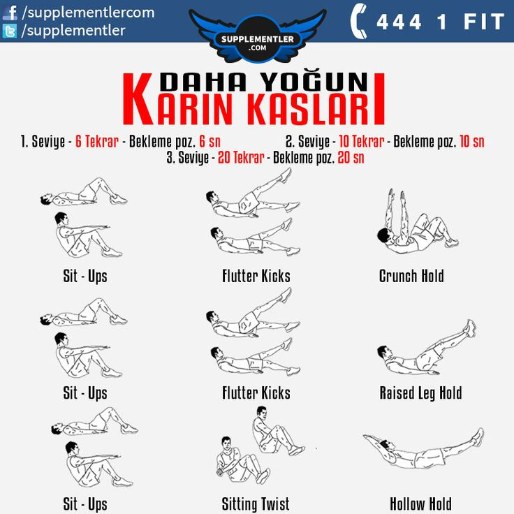 Daha sıkı karın kasları için antrenman programınıza bu hareketleri ekleyebilirsiniz. #fitness #health #supplement #fitness #bodybuilding #body #muscle #kas #vücutgelistirme #training #weightlifting #spor #antrenman #crossfit #spor #workout #workouts #wor