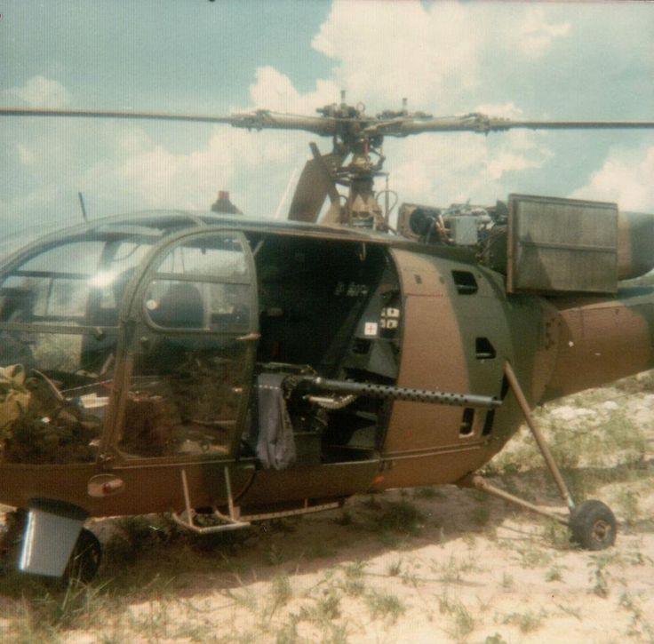 SADF Alloette gunship