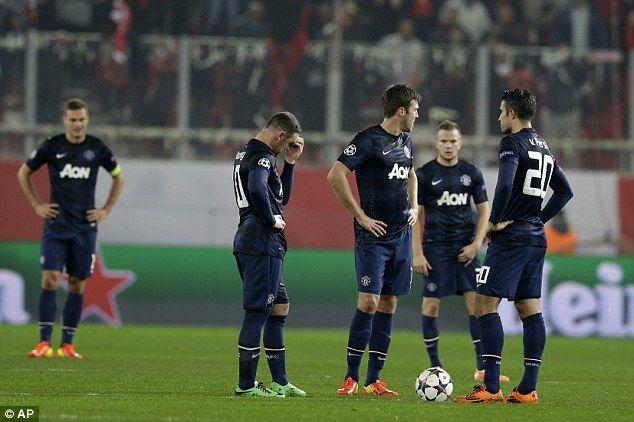 United's first-half performance was ordinary in the heated atmosphere of the Karaiskakis Stadium
