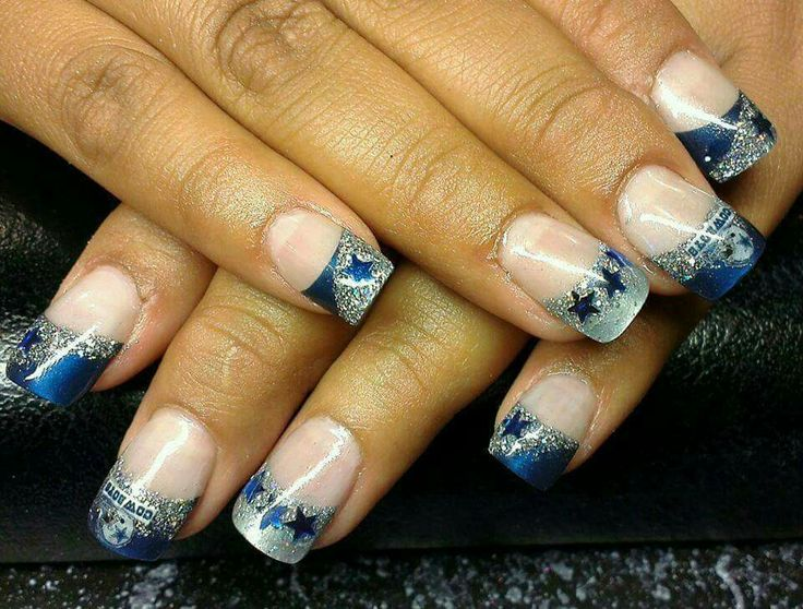 Best 25 dallas cowboys nails ideas on pinterest dallas cowboys dallas cowboys nails prinsesfo Image collections