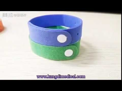 How to use the mosquito repellent bracelet---kongdy