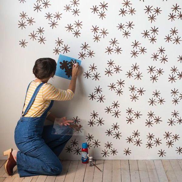 25 ideas para decorar paredes simples y geniales. #decorar #paredes #decoración #diy #creatividad