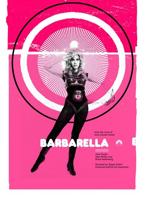 It's Barbarella's 45th anniversary! It's a wonder....wonder woman.... www.Barbarellesque.com
