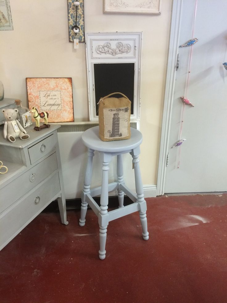 Pair of these stools available @ €170.00. Professionally up cycled at The Store Room Gorey. 053-94-84626 SOLD