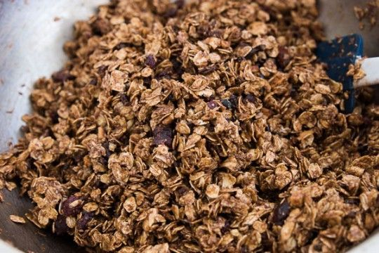 Chocolate Almond Granola