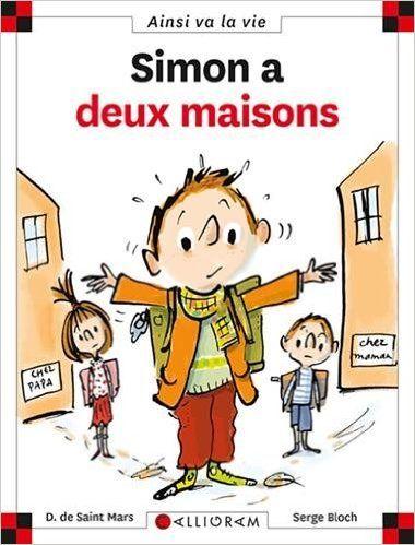 Amazon.fr - Simon a deux maisons - Dominique de Saint Mars, Serge Bloch - Livres