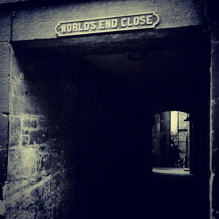 The end is near! (Edinburgh, Scotland)