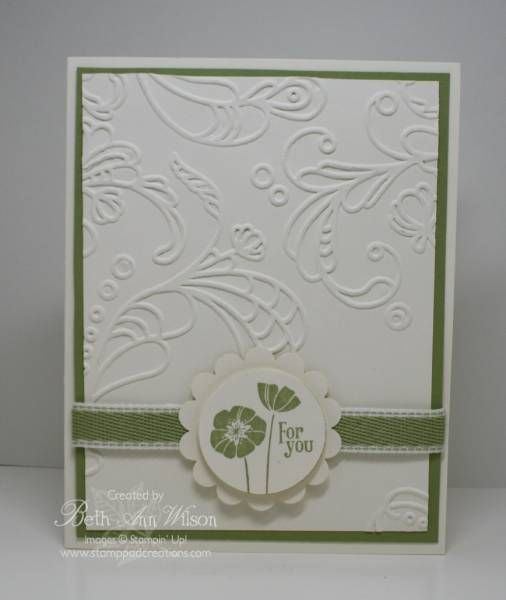 elegant lines: Cards Cards Cards, Flowers Punch, Cards Ideas, Sweet Cards, Cas Cards, Elegant Cards, Cards 637, Paper Crafts, Cards 378