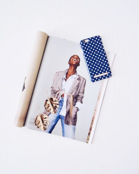 Blue Polka Dots by lovely @lifestyle_by_nicole - Fashion case phone cases iphone inspiration iDeal of Sweden #Pokadots #blue #marin #fashion #inspo #iphone