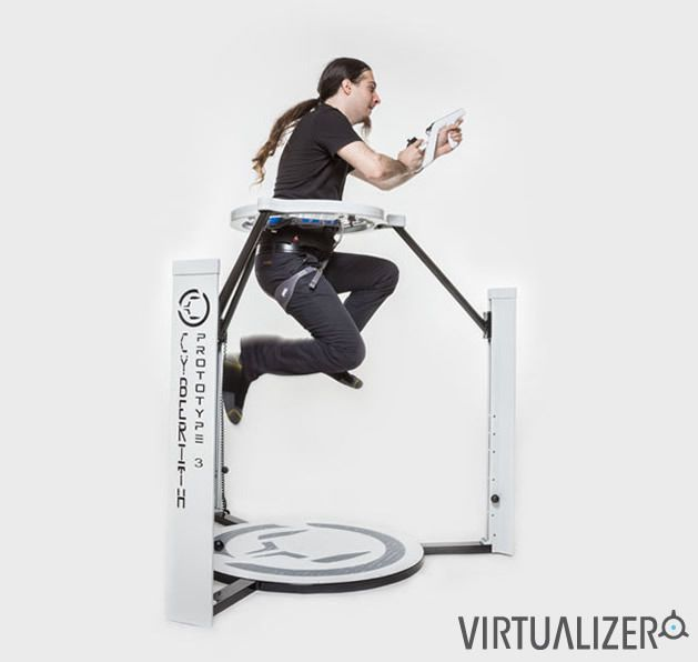 Cyberith Virtualizer - http://www.gadget.com/2014/08/12/cyberith-virtualizer/ cyberith virtualizer, gaming peripheral, kickstarter project, virtual reality, virtual reality gaming
