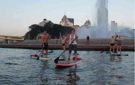 Stand up Paddleboarding and Pittsburgh go hand-in-hand. Think about it, those three rivers are good for more than Gateway Clipper rides and Ducky Tours.