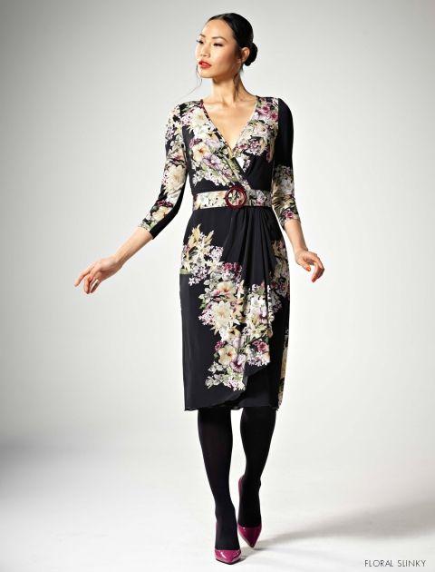 Leona Edmiston - Annabel Dress in Floral Slinky