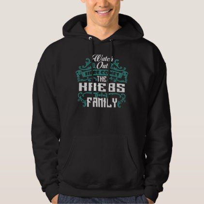 The KREBS Family. Gift Birthday Hoodie - birthday gifts party celebration custom gift ideas diy