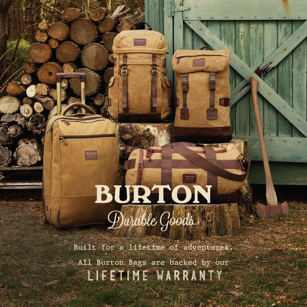 Summer holiday adventures! Get there with Burton luggage