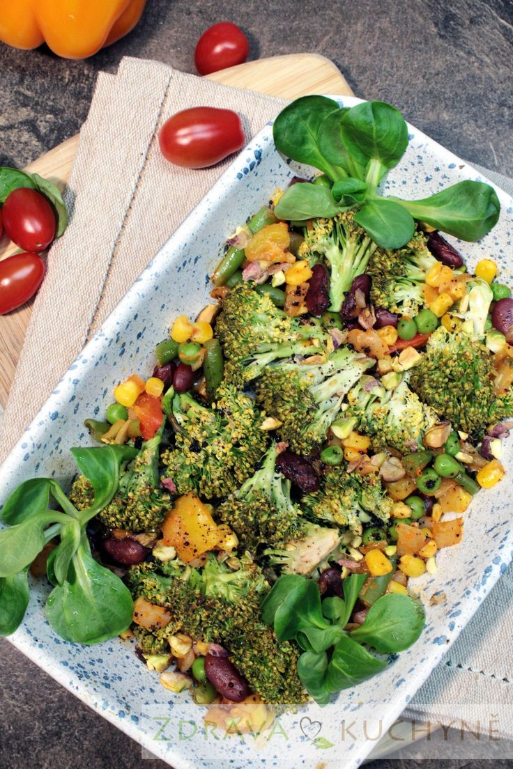 Tekka zelenina (brokolice, kukuřice, hrášek a mrkev)