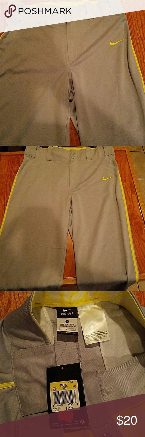 Men's  Nike Baseball pants Men's grey small Nike Baseball Pants Nike Pants