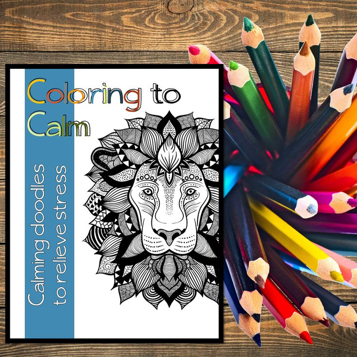 A Great Way To Relieve Stress 15 Pages Of Coloring Zen Tangles And Inspirational Quotes