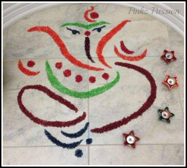 Diwali Décor, Diwali decorations, Festive décor, Indian Festivals, Indian Festivals décor, Rangoli, Rangoli Designs