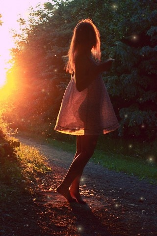 playing in the backyard: Lights, Hot Babes, Gardens Paths, Silhouette, Sunsets, Summer Night, Sunlight, Photo, Summer Clothing