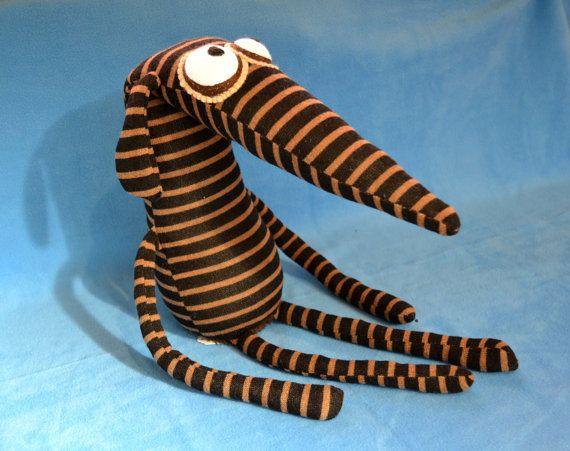 Rupert the Greyhound Dog Handmade Plush Toy