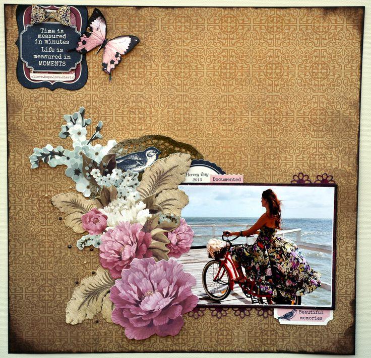 Lillybits: Ma Cherie layout