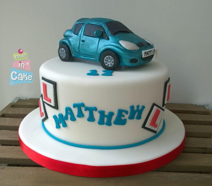 Learner driver cake