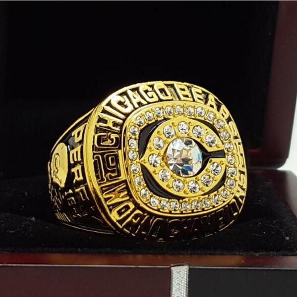 1985 Chicago Bears super bowl Championship Ring 11 Size high quality in stock for sale .