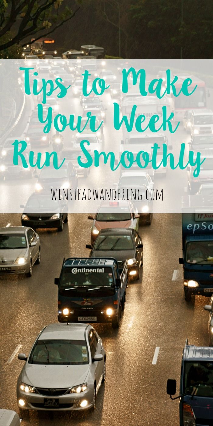 Whether you're single or married, have kids or don't, you probably wish your weekdays weren't so frantic. If that's you, you've got to check out these practical tips to make your week run smoothly.