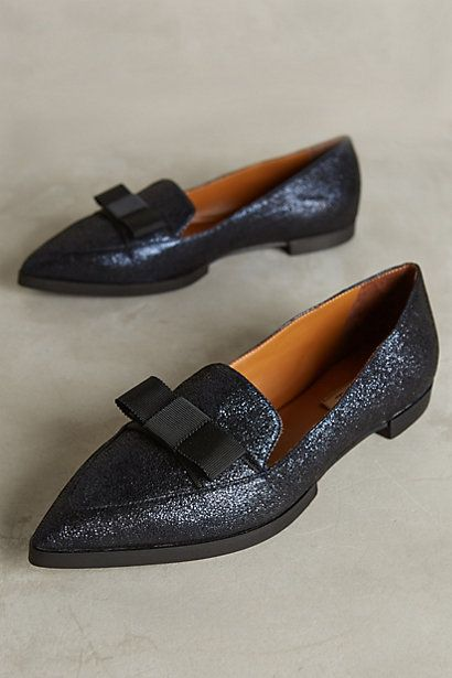 Della Pia Pointed Loafers #anthropologie