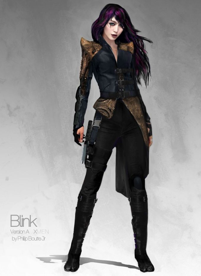 X-Men: Days of Future Past Costume Concept Art by Phillip Boutte Jr.