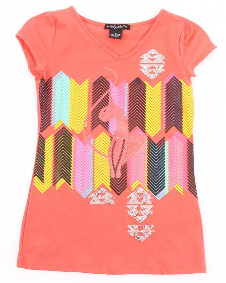22.00 The Geometric Kitty Tee by Baby Phat