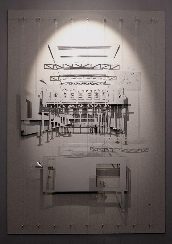 Can Ricart. Workshop of funfair. Conceptual model by Deimante Bazyte, via Behance